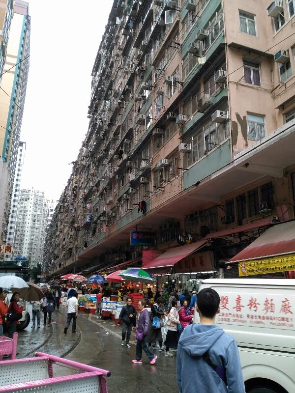 香港の市場
